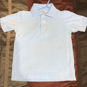 Boys Light Blue Polo Size 5